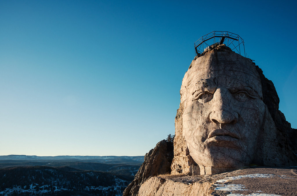 Crazy Horse, Memorial  Hills, South Dakota