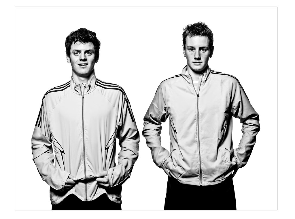 Brownlee Brothers, Triathletes