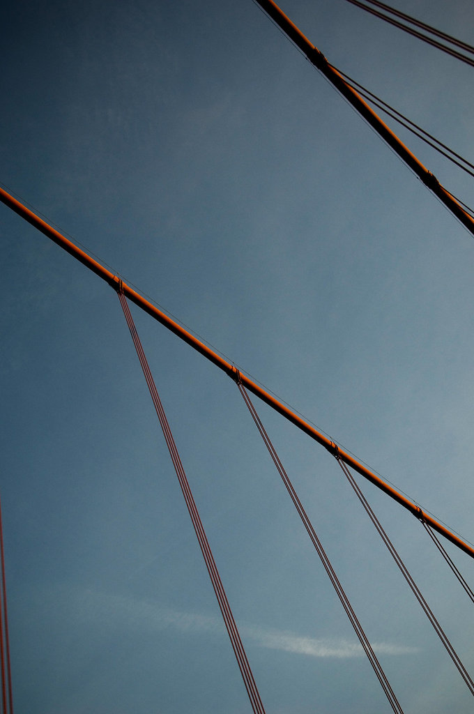 Golden Gate Bridge (detail)