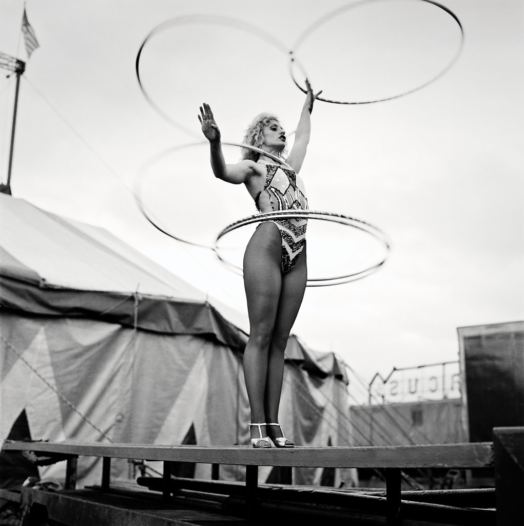 Slavi the Hoop Girl, Courtney Bros Circus, Wexford
