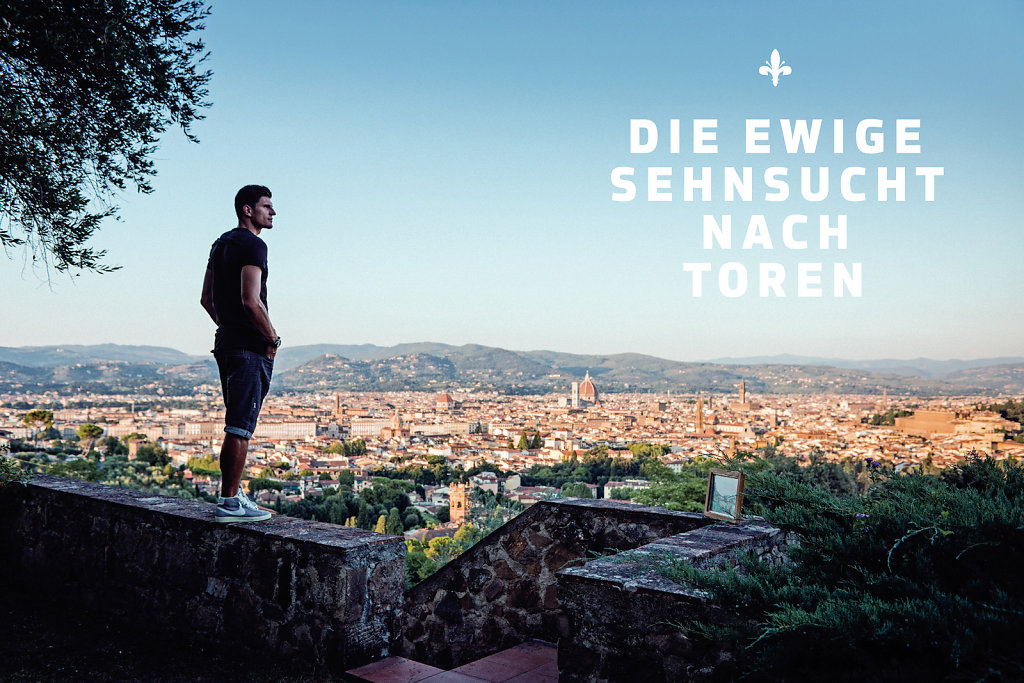 Mario Gomez for 11 Freunde Magazine