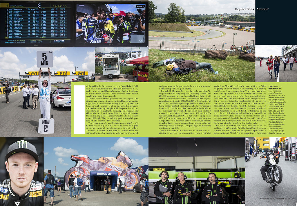 Moto GP for British Airways High Life #2