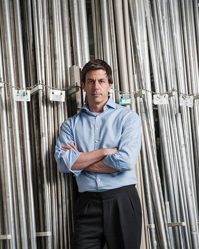 Toto Wolff, Mercedes F1 Headquarters - Andrew Shaylor Photographer
