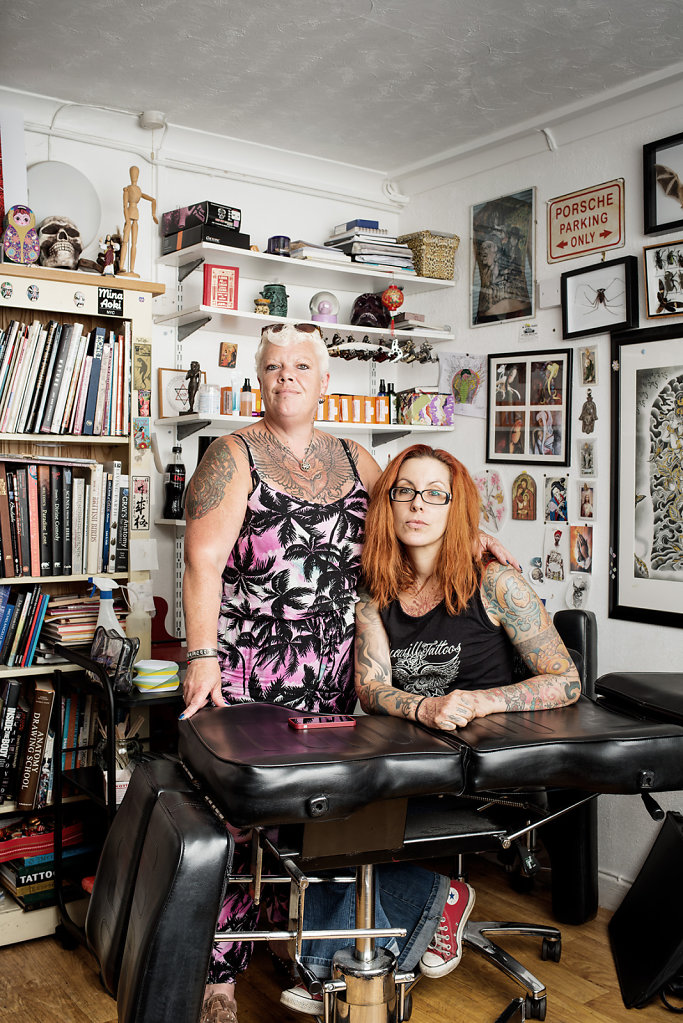 Dee O'Brien & Sophie Zie-Carreras, Truewill Tattoos