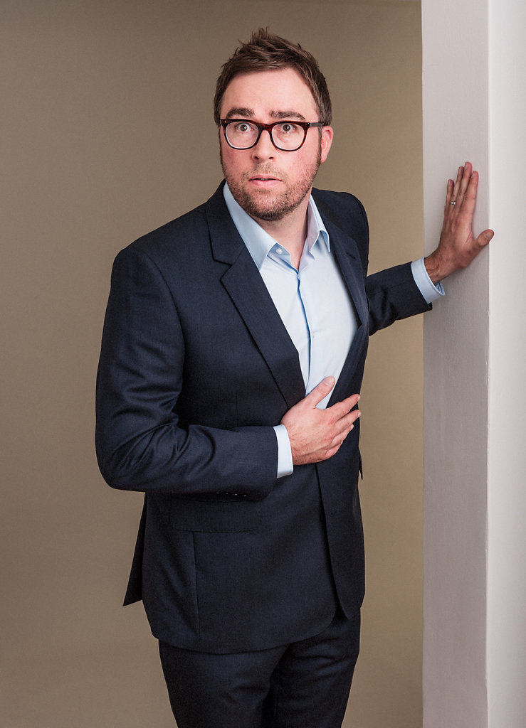 Danny Wallace for Shortlist Magazine