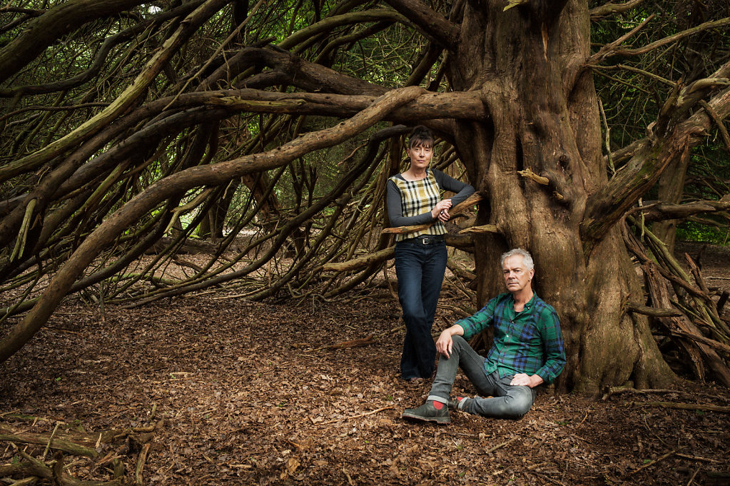 Heather Ackroyd & Dan Harvey, Multi Media Artists, near Newlands Corner, Surrey