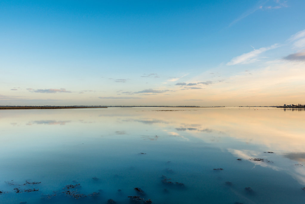 Looking towards Hayling Island From Farlington Marshes